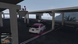 GTA V Online - No saben salir de un estacionamiento D: