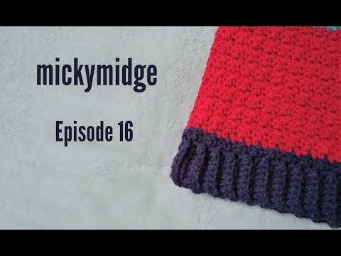 Crochet Podcast Episode 16 - Big Changes