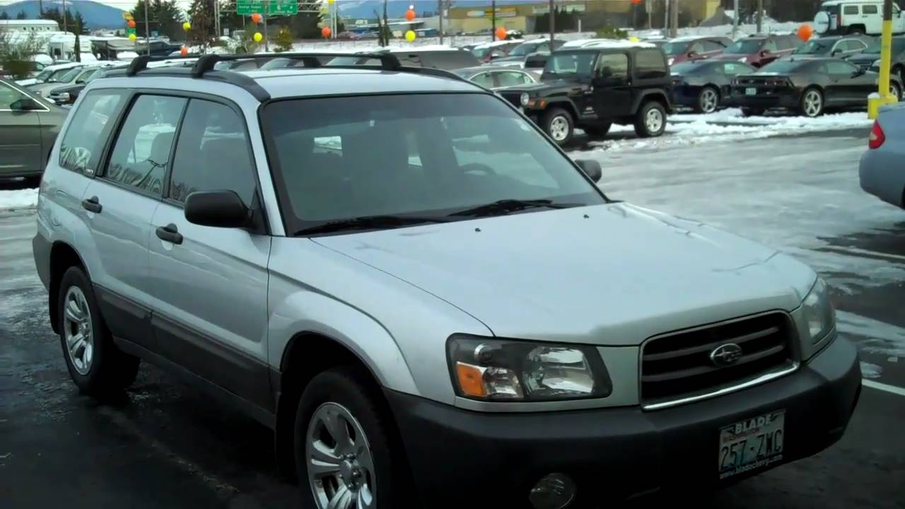 Everett Chevrolet >> 2003 Subaru Forester - YouTube