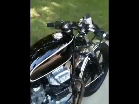 1982-83 kz440 cafe racer - youtube