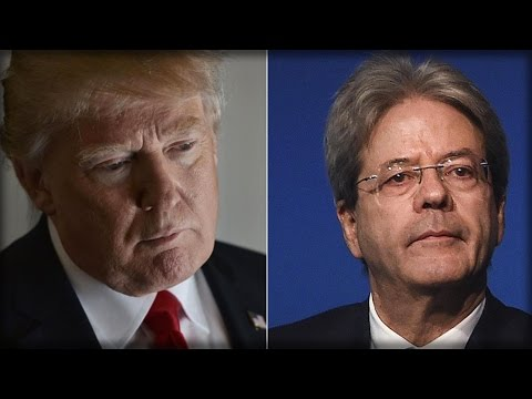 PRESS CONFERENCE WITH PRIME MINISTER GENTILONI AND PRESIDENT TRUMP