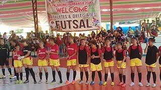 Palarong Pambansa 2018 Futsal Region I Vs CARAGA