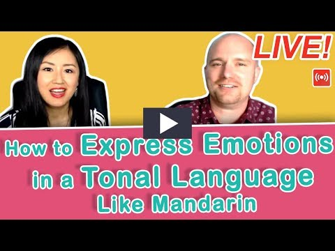 [LIVE] How to Express Emotions in a Tonal Language Like Mandarin | Yoyo Chinese Live Hangouts