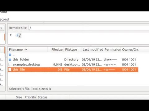 Tutorial FTP Ubuntu - Create a FTP user to access home directory only