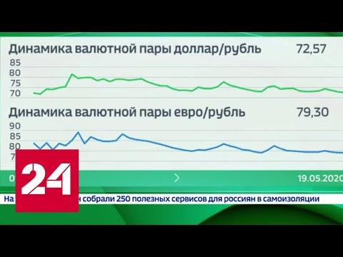 Новости экономики. Рубль поигрывает мускулами: как нефть помогла валюте мышцы подкачать - Россия 24