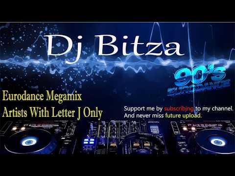 Eurodance Dance 90 - Letter J Only Megamix