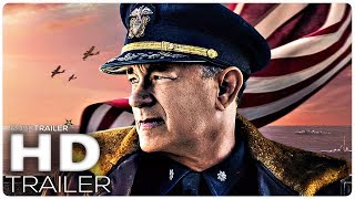 GREYHOUND Official Trailer (2020) Tom Hanks, Drama Movie HD