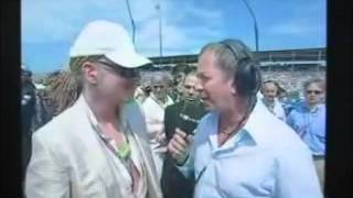 axl rose nascar interview 2006 rare