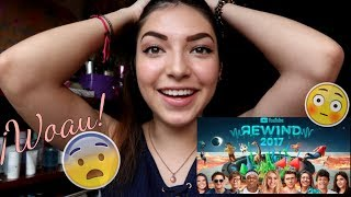 REACCIONANDO AL YouTube Rewind: The Shape of 2017 | #YouTubeRewind| Maria Tovar | videoreaccion