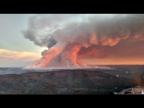 Cedar Fire AZ - Wildfire Season 2016 - Evacuation?