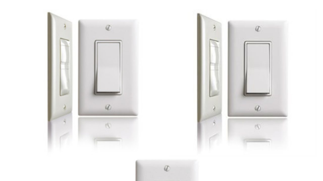 How to Wire a Decorator Light Switch - YouTube