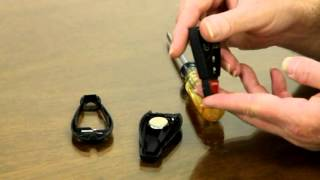 how to change the battery in the dodge challenger key fob tutorial