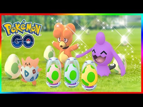 pok mon go eggstravaganza first ever shiny egg hatching event in pok mon go youtube. Black Bedroom Furniture Sets. Home Design Ideas