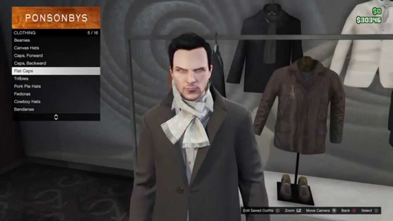 Grand Theft Auto 5 Aiden Pearce outfit tutorial