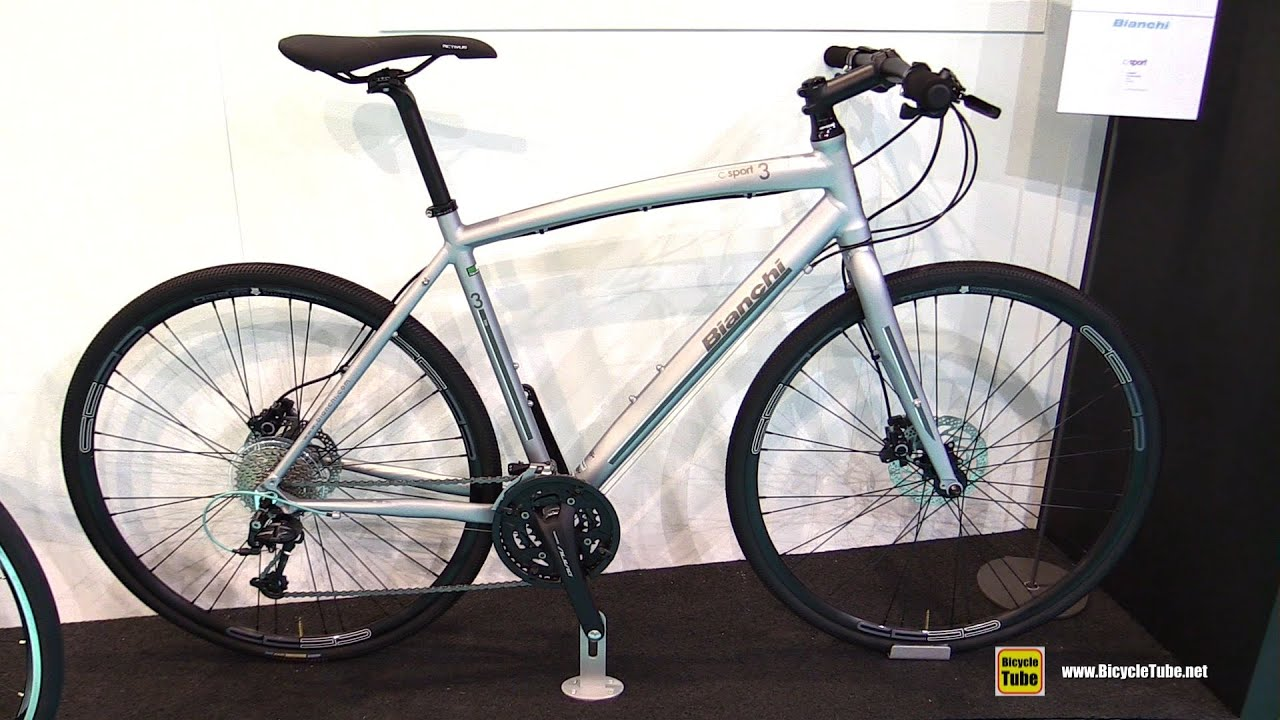 2016 bianchi c sport 3 27sp disk brake cyclo cross bike walkaround 2015 eurobike youtube. Black Bedroom Furniture Sets. Home Design Ideas