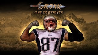 Gronk The Destroyer (Rob Gronkowski Career Highlights)