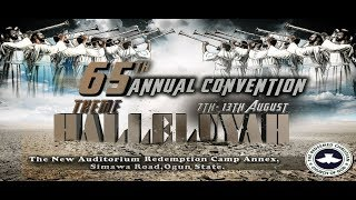 DAY 6 HOLY COMMUNION - RCCG 65TH ANNUAL CONVENTION 2017 - HALLELUJAH