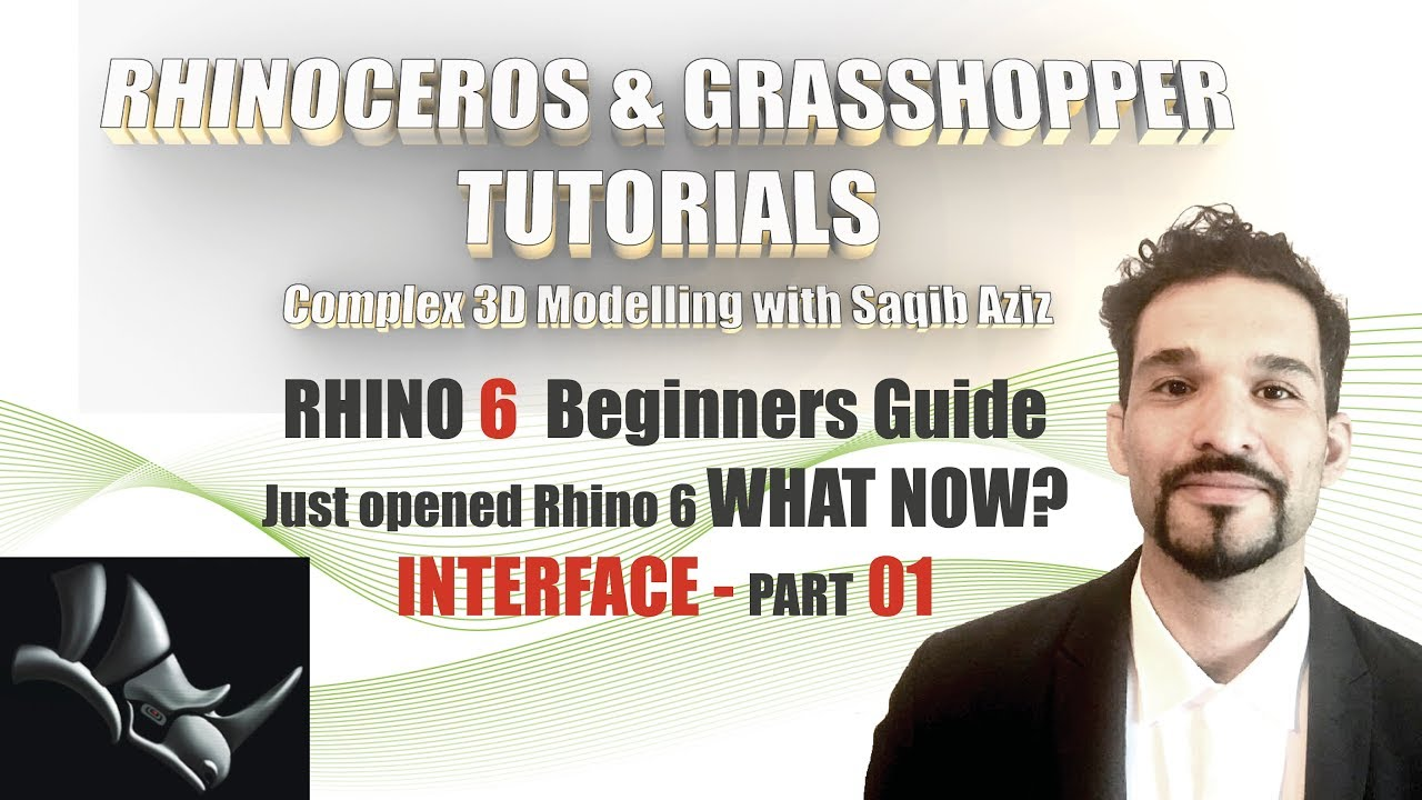 Rhinoceros 6 Tutorial I Rhino Interface Part 01 I Beginners Guide I Quick  Tipp I Beginner