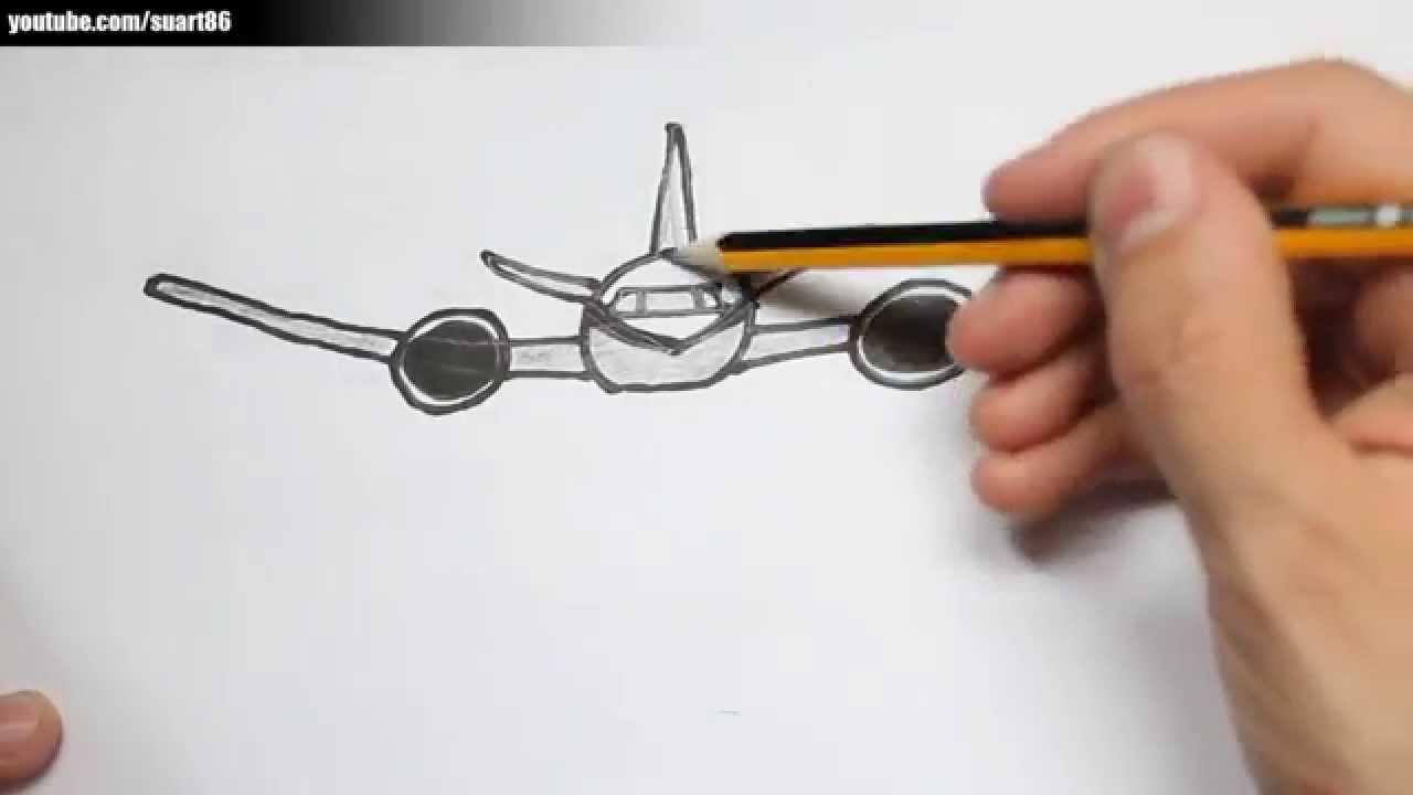 Como dibujar un avion  YouTube