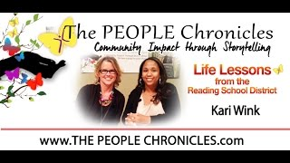 Life Lessons with the Reading School District with a brand new twist! - Meet Kari Wink!