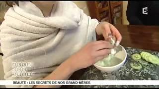 Soins pour le visage : recettes de grand-mères