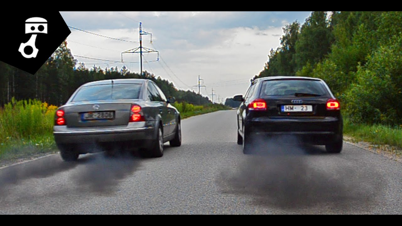 Vw Passat B5 5 1 9tdi Vs Audi A3 8p1 2 0tdi Drag Zhmuratv