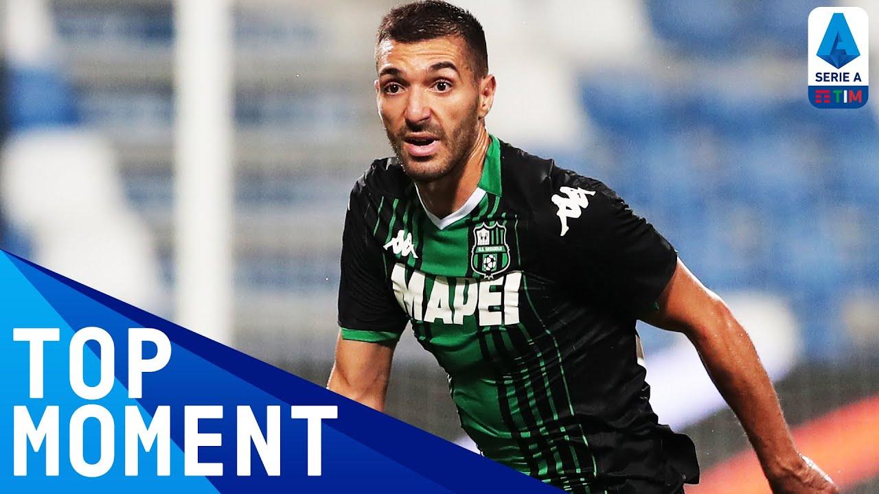 Bourabia's Brilliant Free Kick Earns Wins a Point   Sassuolo 1-1 Cagliari   Top Moment   Serie A TIM