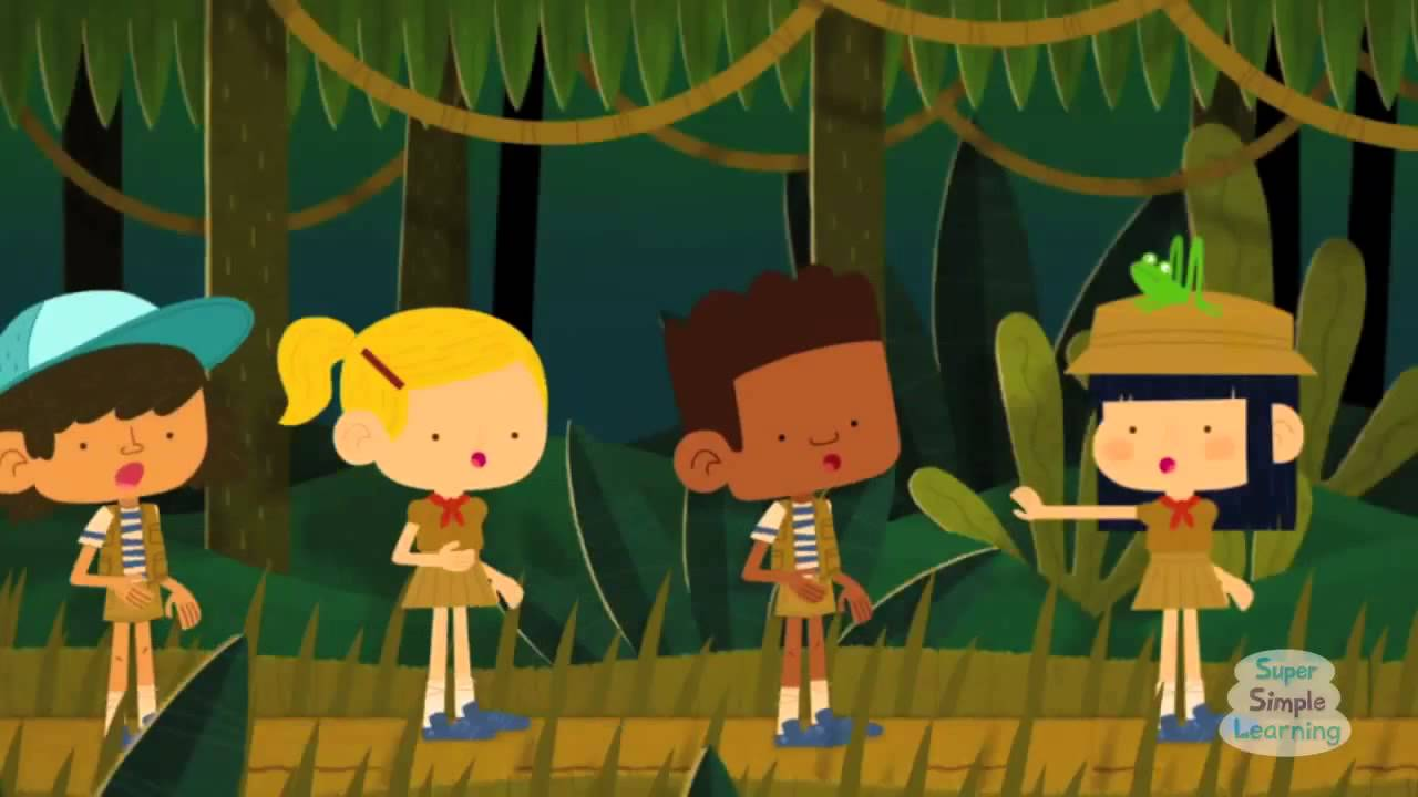 Walking In The Jungle Song For Kids YouTube