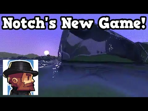 Minecraft 2 With Circles!? - Notches New Game (Gameplay)