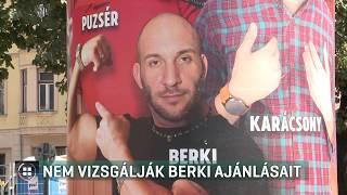 Nem vizsgálja Berki Krisztián ajánlásait a Nemzeti Választási Bizottság 19-09-20