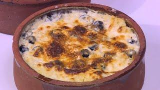 ارز معمر بالجبنة و الزيتون | نجلاء الشرشابي