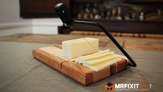 DIY CHEESE CUTTING BOARD