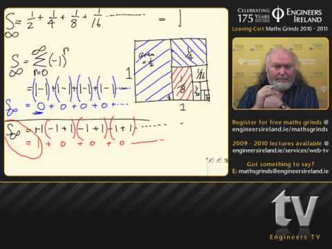 Sequences and Series II - Leaving Certificate Maths Tutorial