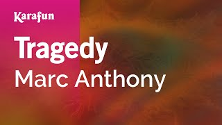 Karaoke Tragedy - Marc Anthony *