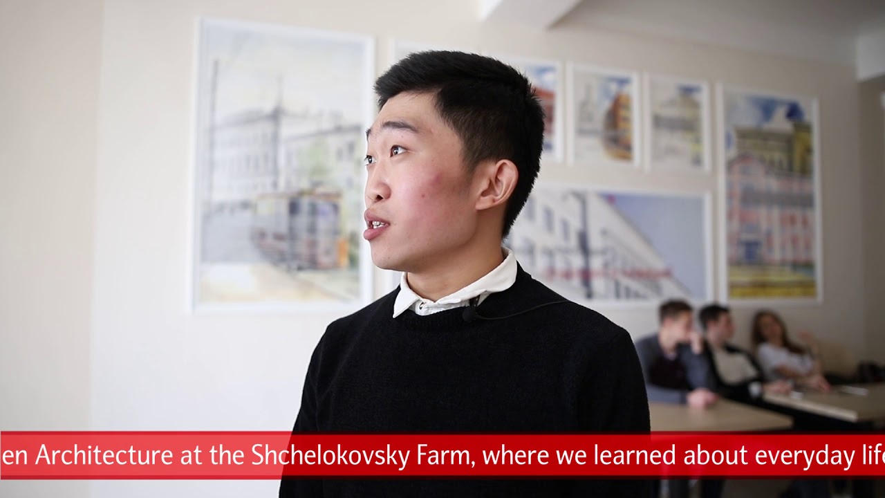 Hu Feng (China) about Nizhny Novgorod