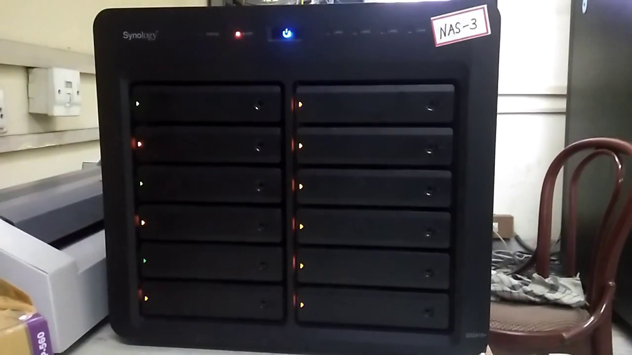 Synology | Blue Light Blinking with Alert Light | Nas Not Working || April  22, 2018 ||