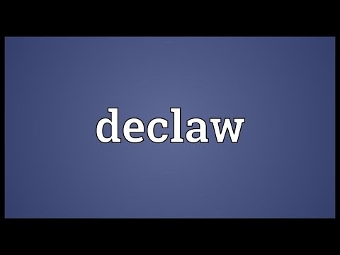 Header of declaw
