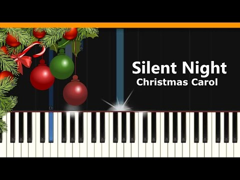 """Silent Night"" (Christmas Song) Piano Tutorial - Chords - How To Play - Cover"