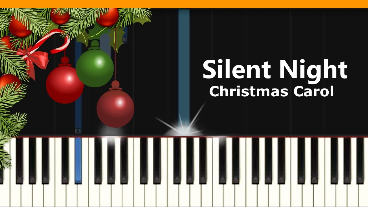 Silent night christmas song piano tutorial chords how to silent night christmas song piano tutorial chords how to play cover hexwebz Images