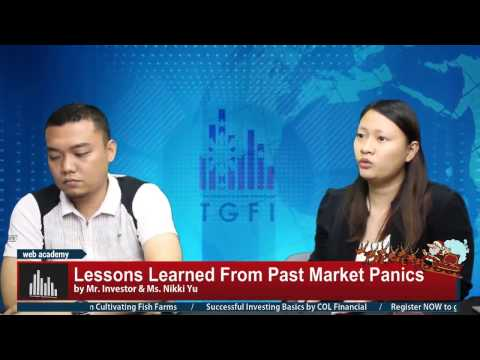 Lessons Learned From Past Stock Market Panics