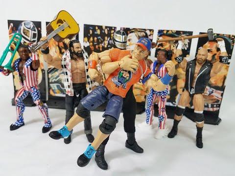 WWE ELITE 60 JOHN CENA & GIANT MACHINE ANDRE THE GIANT FIGURE REVIEW!