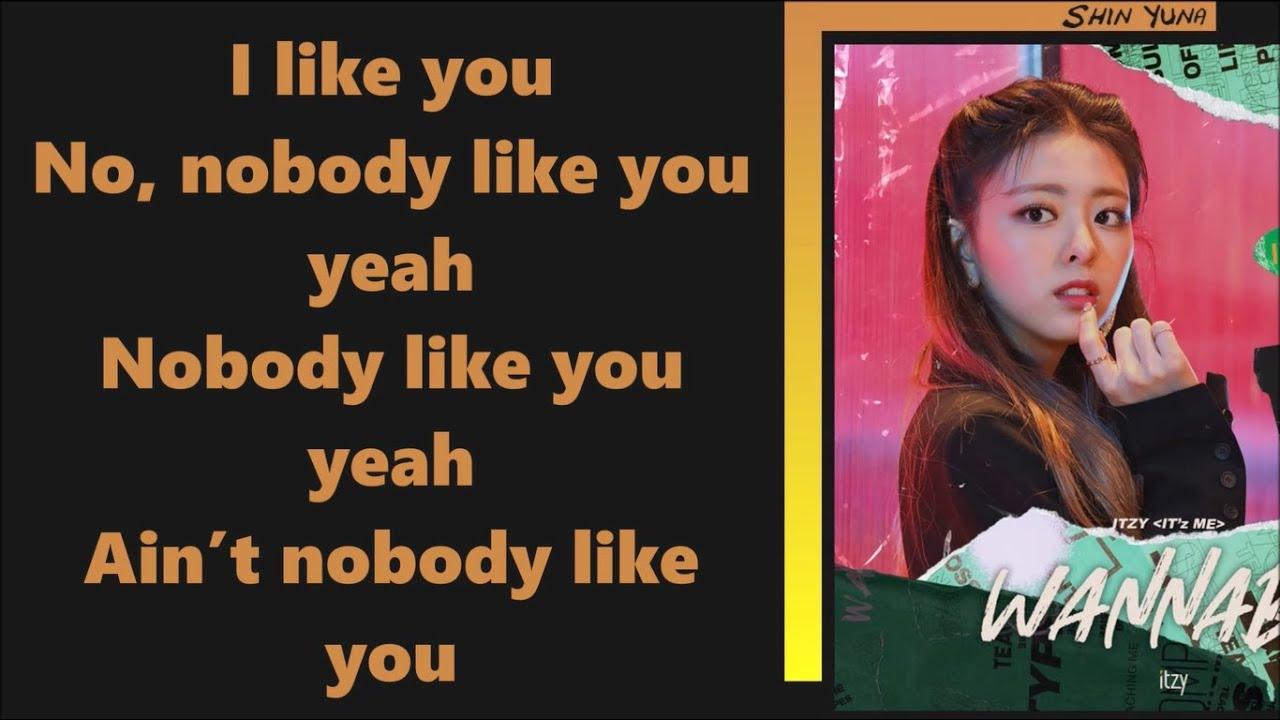 Itzy Nobody Like You Easy Lyrics Youtube Stephen paul robson, emily warren lyrics powered by www.musixmatch.com. youtube