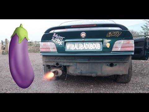 NEW EXHAUST SPITS FLAMES