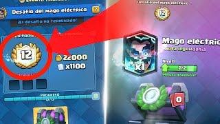 objetivo 12 victorias mago electrico el mejor mazo clash royale