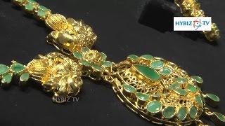 Emerald Necklace Design Jewelry Set   Malabar Gold and Diamonds   hybiz