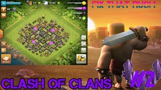 SOME MORE DANK LVL 7 WALLS (FIX THAT RUSH #2 Clash of Clans
