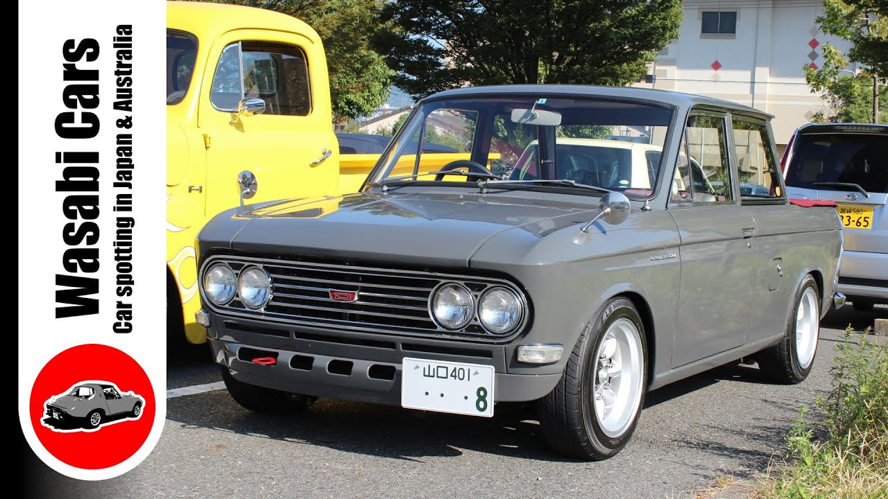 beautifully restored 1968 datsun 1300 double cab pickup u520