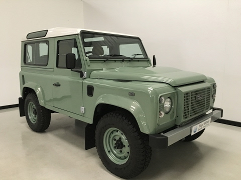 For sale-2015 Landrover Defender 90 Heritage Ltd Edition-Delivery Miles - Nick Whale Sports Cars
