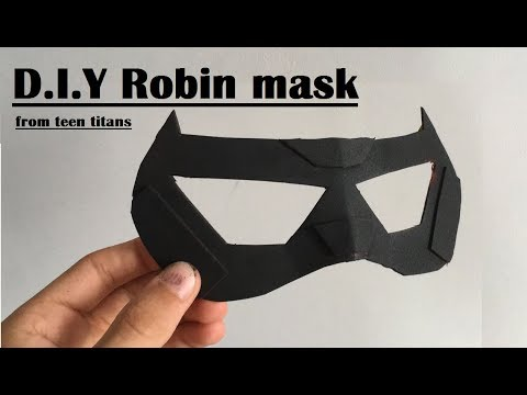 DIY Robin mask