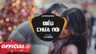 ĐIỀU CHƯA NÓI - TÙA X CM1X ( C.A.O Remix ) | OFFICIAL LYRIC VIDEO